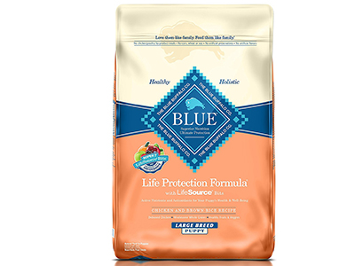 3. Blue Buffalo Life Protection Dry Puppy Food