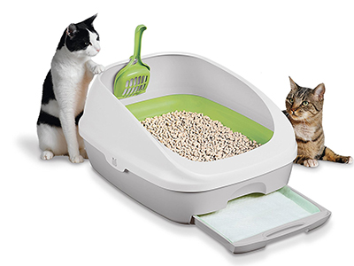 1. Tidy Cats Litter Box Kit System