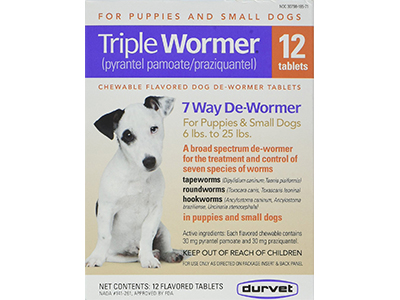 9. Tipple puppy and Small Dog Wormer