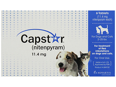 4. Capstar Flea Tablets for Dogs and Cats
