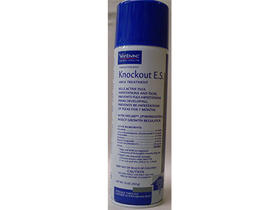 7. Virbac Knockout E.S. Area Treatment Carpet Spray