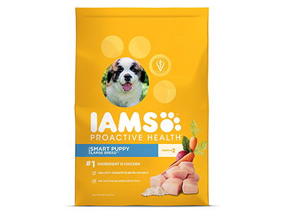 2. IAMS PROACTIVE HEALTH Puppy Dry Dog Food