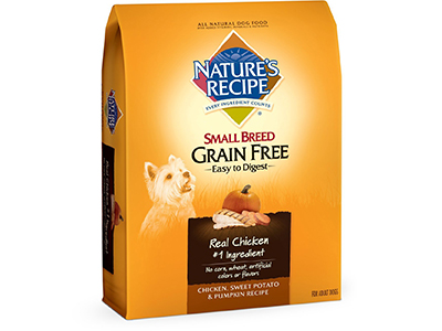 5. Nature's Recipe Grain Free Dry Dog Food