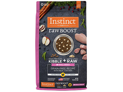 10. Instinct Raw Boost Grain Free